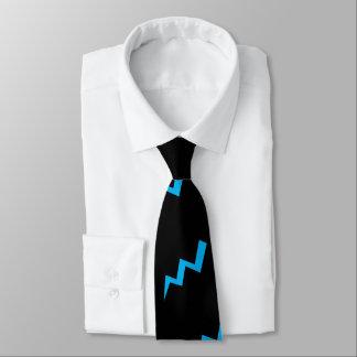 Blue Lightening Tie Lightening Strike