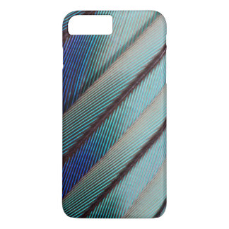 Blue Lilac Breasted Roller feather iPhone 7 Plus Case
