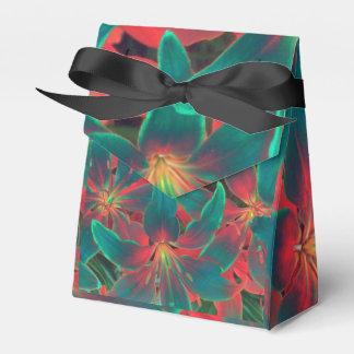 Blue lilies favour box