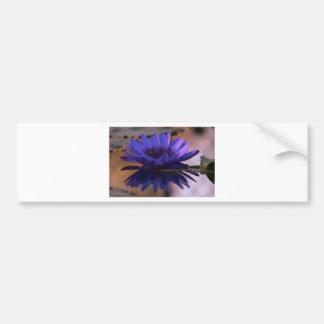 Blue Lily Bumper Sticker