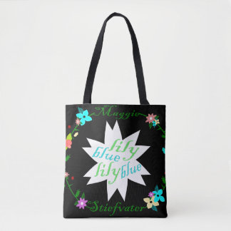 Blue Lily Lily Blue - The Raven Cycle Tote Bag