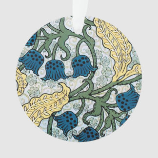 Blue Lily of the Valley pattern Ornament