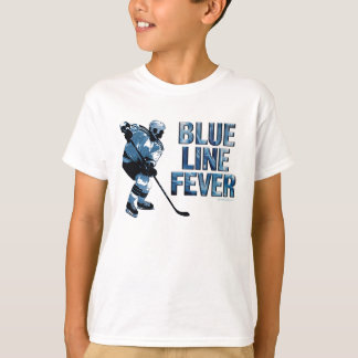 Blue Line Fever (Hockey) T-Shirt