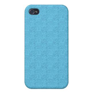 blue line texture iPhone 4 cover