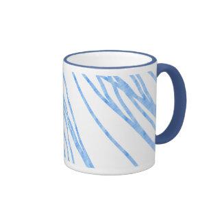 Blue Lines Mugs