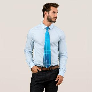 Blue lines tie