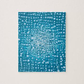 Blue Liquid Background Jigsaw Puzzle