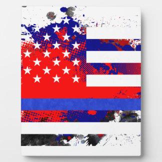 Blue Lives Matter Plaque