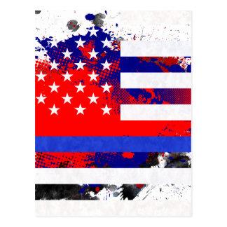 Blue Lives Matter Postcard