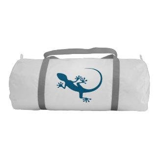 Blue lizard, geko - Faraglioni, Capri, Italy Gym Duffel Bag
