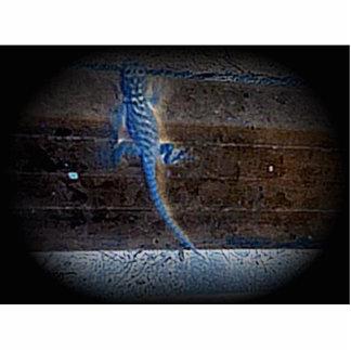 Blue Lizzard Acrylic Cut Out