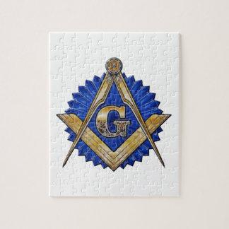 Blue Lodge Mason Jigsaw Puzzle