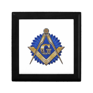 Blue Lodge Mason Small Square Gift Box
