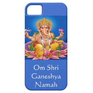 Blue Lord Ganesh iPhone 5 case
