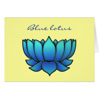 blue lotus card