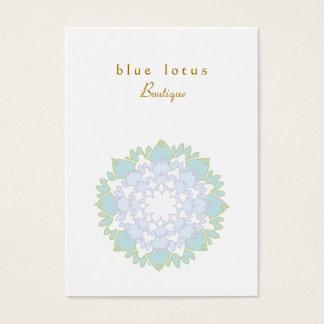 Blue Lotus Chubby Business Card