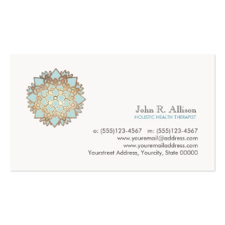 Blue Lotus Holistic Healing Arts and Wellness Pack Of Standard Business Cards