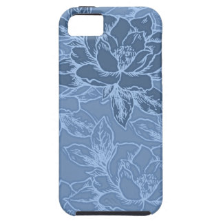 Blue Lotus iPhone 5 Cover