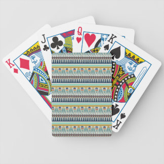 Blue lotus motif of Pairy Bicycle Playing Cards