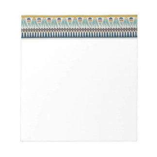 Blue lotus motif of Pairy Notepad