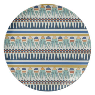 Blue lotus motif of Pairy Party Plate