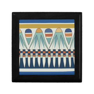 Blue lotus motif of Pairy Small Square Gift Box