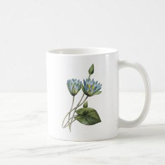 blue lotus(Nymphaea caerulea) by Redouté Coffee Mug
