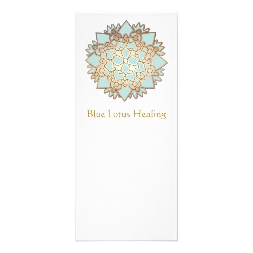 Blue Lotus Rack Card