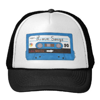 Blue Love Songs Mix Tape Cap