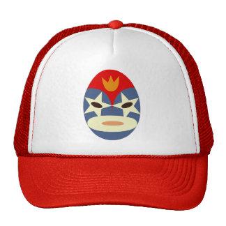 Blue Lucha Libre Mask Cap