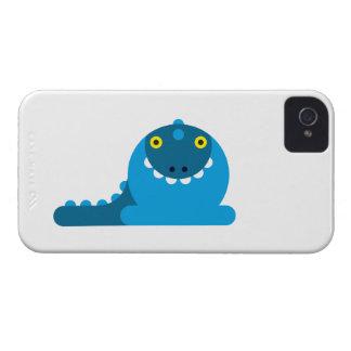 Blue Mad Dragon Blackberry Case