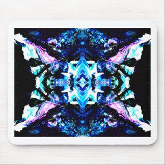 Blue Magic Purple Blue Turquoise Pretty Design Mousepads