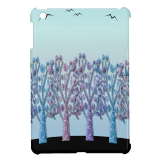 Blue magical landscape case for the iPad mini
