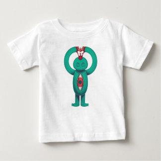 Blue man flame king baby T-Shirt