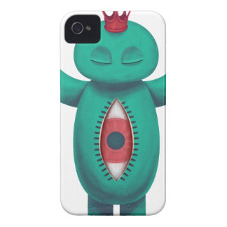 Blue man flame king iPhone 4 cover