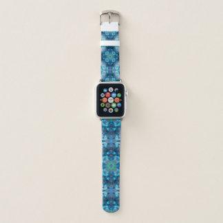 Blue Mandala 2 Apple Watch Band