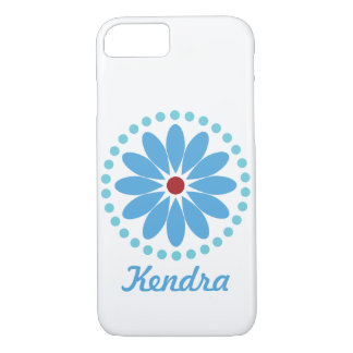 Blue Mandala Cell Phone Case | Fits 6s