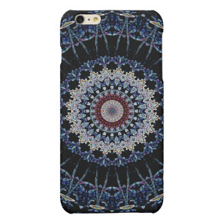 Blue Mandala iPhone 6 Plus Matte Case Savvy