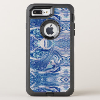 Blue marbl  Apple iPhone 8 Plus/7 Plus Case, Black