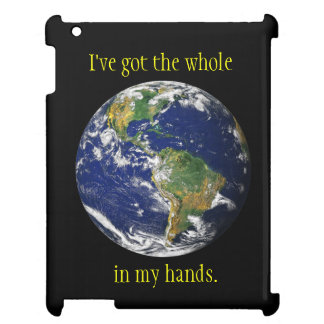 Blue Marble_I've got the whole world in my hands Case For The iPad 2 3 4