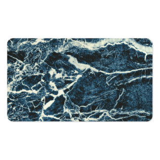 Blue marble pack of standard business cards