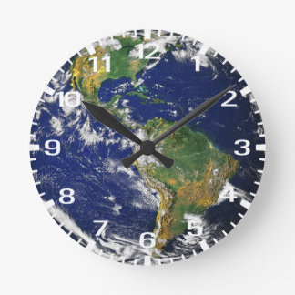 Blue Marble Time Wallclocks