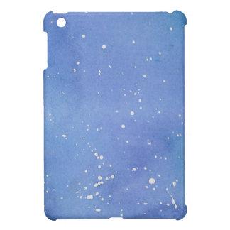 Blue Marble Watercolour Splat iPad Mini Case