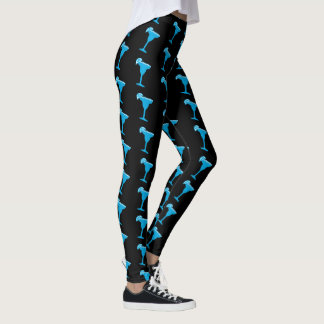 Blue Margarita Leggings