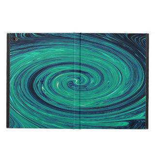 Blue Marine Glass Swirl