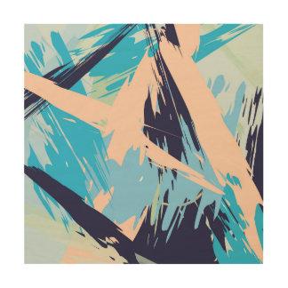 Blue Maritime Nautical Abstract Art