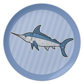 Blue Marlin Dinner Plates