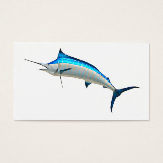 Blue Marlin Game Fish Business Card
