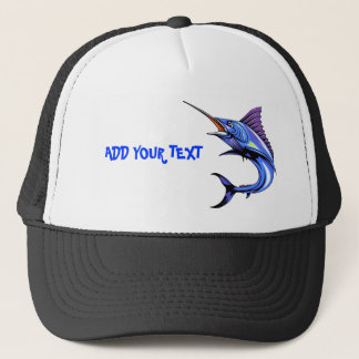 Blue Marlin Gone Fishing Cap
