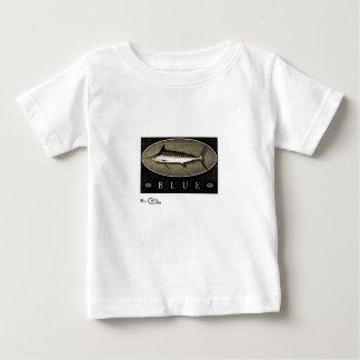 Blue Marlin Infant's Vintage Black & White Apparel Tshirt